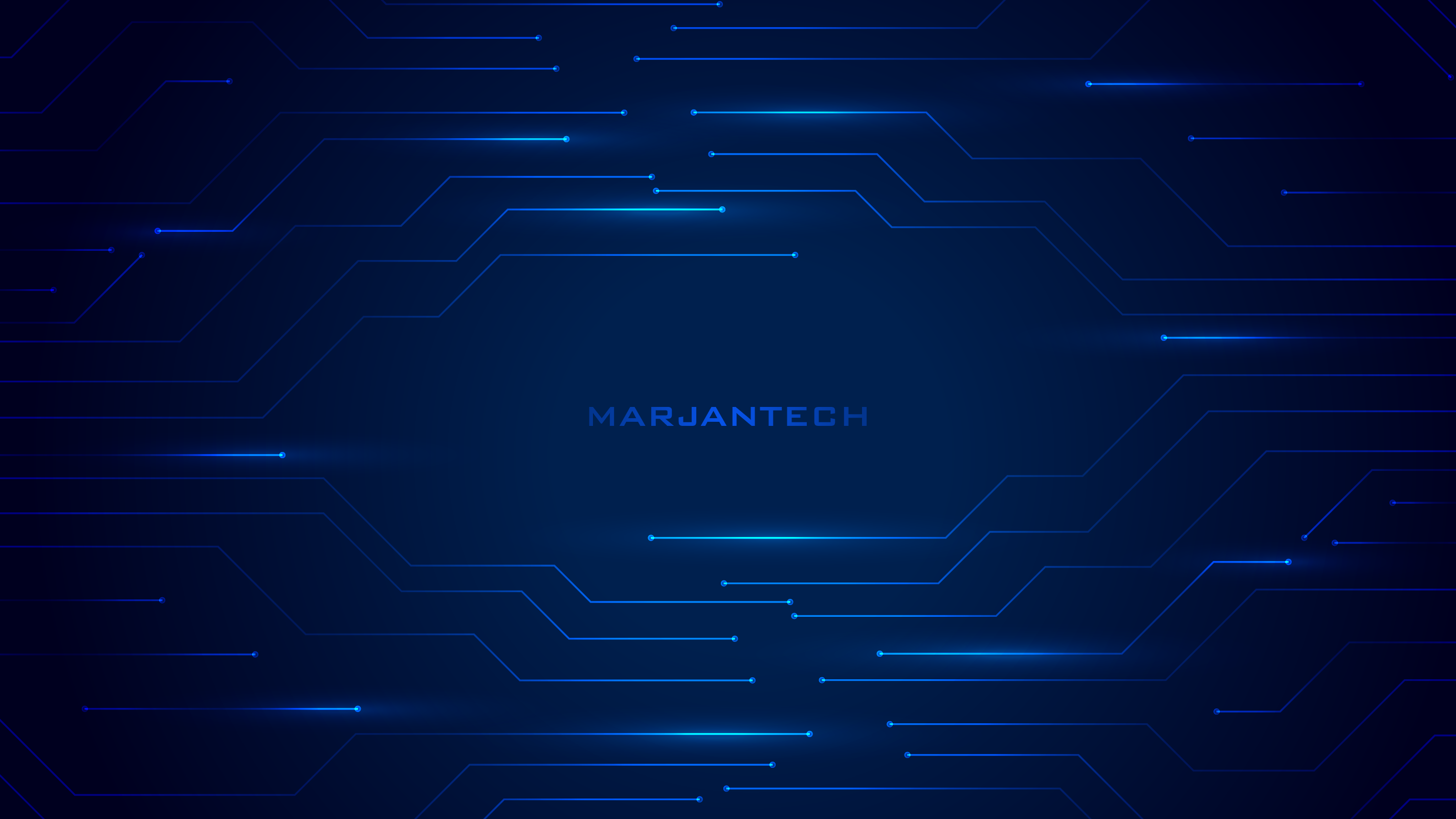 WELCOME TO MARJANTECH